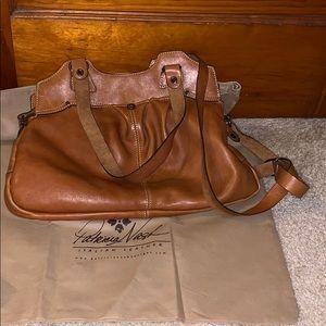 Patricia Nash Leather Satchel Bag